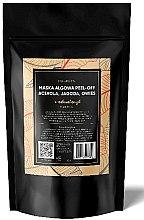 Profumi e cosmetici Maschera esfoliante alginata con acerola, avena e mirtilli - E-naturalne Alginate Mask Peel-off
