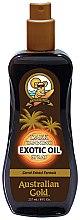 Profumi e cosmetici Olio-spray abbronzante - Australian Gold Dark Tanning Exotic Oil Spray