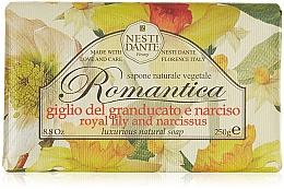 """Profumi e cosmetici Sapone """"Giglio e narciso"""" - Nesti Dante Romantica Tuscan Lily&Narcissus Soap"""
