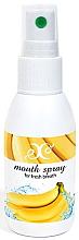 """Profumi e cosmetici Spray per la cavità orale """"Banana"""" - Hristina Cosmetics Banana Mouth Spray"""