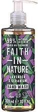 Profumi e cosmetici Sapone liquido all'Aloe Vera - Faith in Nature Lavender & Geranium Hand Wash