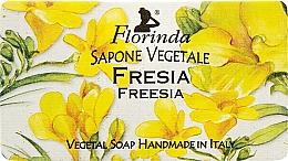 """Profumi e cosmetici Sapone naturale """"Fresia"""" - Florinda Sapone Vegetale Freesia"""