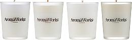 Profumi e cosmetici Set - AromaWorks Signature Range Candle Boxed Set (candles/4x75g)