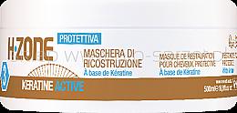 Profumi e cosmetici Maschera capelli riparatrice alla cheratina - H.Zone Keratin Active