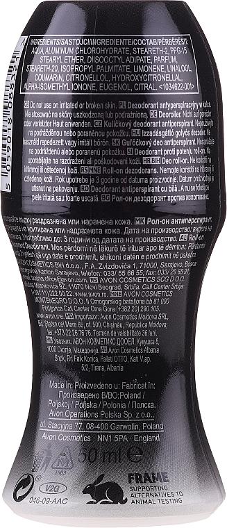 Avon Black Suede Dark - Deodorante antitraspirante roll-on — foto N2
