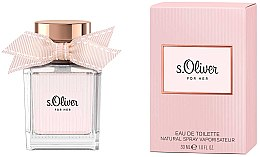 Profumi e cosmetici S.Oliver For Her - Eau de toilette