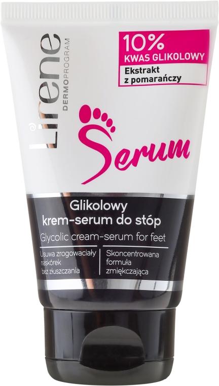Crema-siero piedi - Lirene Glycolic Cream-Serum For Feet