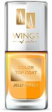 Profumi e cosmetici Top coat - AA Wings of Color Color Top Coat