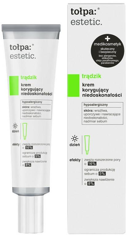 """Crema viso, da giorno """"Anti-imperfezioni"""" - Tolpa Estetic Anti-Imperfections Day Cream"""