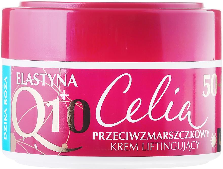 "Crema lifting anti-rughe ""Rosa selvatica "" - Celia Q10 Face Cream 50+"
