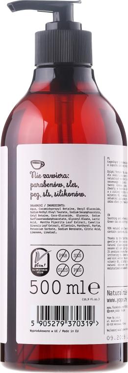 Sapone liquido per mani Tè e menta - Yope Tea And Mint Cosmetic Soap — foto N2
