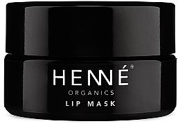 Profumi e cosmetici Maschera per labbra - Henne Organics Lip Mask