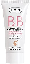 Profumi e cosmetici BB crema viso, SPF 15 - Ziaja BB-Cream Opalony Brzoskwiniowy
