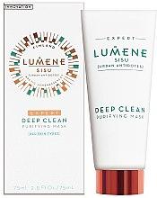 Profumi e cosmetici Maschera viso detergente - Lumene Sisu Expert Deep Clean Purifying Mask