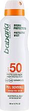 Profumi e cosmetici Spray solare per il corpo - Babaria Protective Mist For Sensitive Skin Spf50