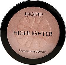 Profumi e cosmetici Cipria compatta illuminante - Ingrid Cosmetics HD Beauty Innovation Shimmer Powder