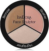 Profumi e cosmetici Palette Sculpting viso - IsaDora Face Sculptor