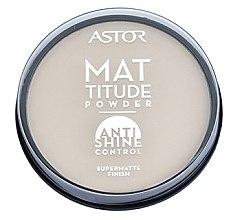 Profumi e cosmetici Cipria - Astor Mattitude Anti Shine Powder