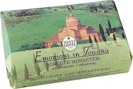 "Sapone ""Villaggi e monasteri"" - Nesti Dante Villages Monasteries Soap"