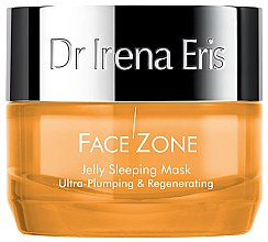 Profumi e cosmetici Maschera viso - Dr Irena Eris Face Zone Jelly Sleeping Mask Ultra-Plumping & Regenerating