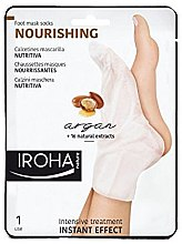 Profumi e cosmetici Maschera per piedi - Iroha Nature Nourishing Argan Socks Foot Mask