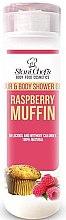 Profumi e cosmetici Gel doccia per capelli e corpo - Hristina Stani Chef's Hair And Body Shower Gel Raspberry Muffin