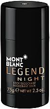 Profumi e cosmetici Montblanc Legend Night Stick - Deodorante