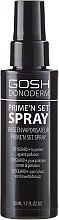 Profumi e cosmetici Spray fissaggio trucco - Gosh Donoderm Prime`n Set