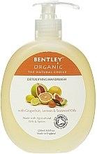 """Profumi e cosmetici Sapone liquido per le mani """"Detox"""" - Bentley Organic Body Care Detoxifying Handwash"""