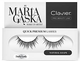 Profumi e cosmetici Ciglia finte - Clavier Quick Premium Lashes Daily Lady 813