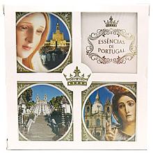 Profumi e cosmetici Set - Essencias De Portugal Religious Collection (soap4x50g)