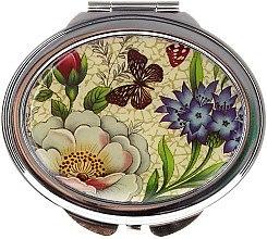 """Profumi e cosmetici Specchio cosmetico tascabile """"Farfalle"""", 85451, fiori e farfalle - Top Choice"""