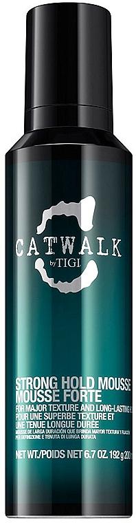Mousse per capelli fissaggio forte - Tigi Catwalk Strong Hold Mousse