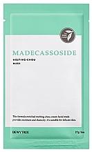 Profumi e cosmetici Maschera viso con estratto di Centella asiatica - Dewytree Madecassoside Melting Chou Mask