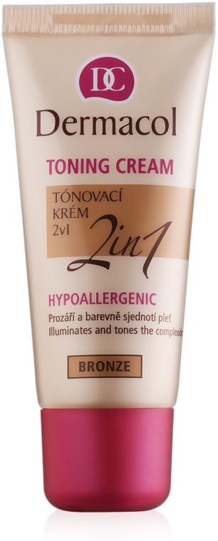 Fondotinta idratante 2in1 - Dermacol Make-Up Toning Cream