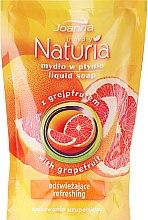 """Profumi e cosmetici Sapone liquido """"Pompelmo"""" (ricarica) - Joanna Naturia Body Grapefruit Liquid Soap (Refill)"""