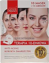 """Profumi e cosmetici Maschera viso anti-età """"Terapia di 10-giorni"""" - Czyste Piekno Anti-age Therapy 10 Days"""