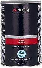 Profumi e cosmetici Polvere schiarente blu - Indola Profession Rapid Blond+ Blue Dust-Free Powder