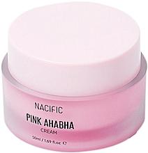 Profumi e cosmetici Crema viso con estratto di anguria, acidi ANA e BHA - Nacific Pink AHA BHA Cream