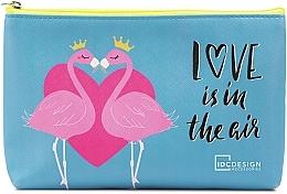 Profumi e cosmetici Beauty case con stampa, blu - IDC Design Accessories Cosmetig Bag