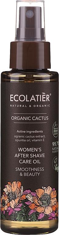 Olio dopobarba - Ecolatier Organic Cactus Women`s After Shave Care Oil