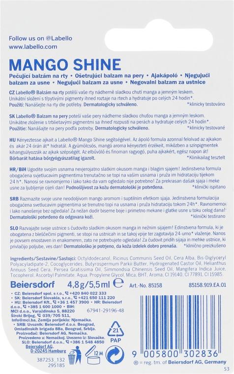 Balsamo labbra - Labello Mango Shine — foto N2