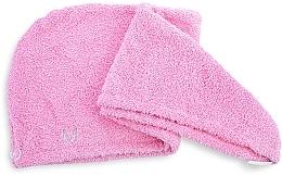 Asciugamano turbante, rosa - MakeUp — foto N2