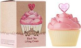 Profumi e cosmetici Crema viso effetto lifting - A:t Fox Black Tea Face Cream