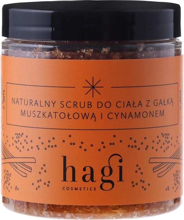 Scrub corpo naturale con noce moscata e cannella - Hagi Scrub