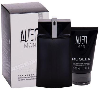 Mugler Alien Man - Set (edt/100ml+sh/gel/50ml)