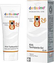 Profumi e cosmetici Dentifricio per bambini - Dentissimo Kids Toothpaste Caramel