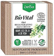 Profumi e cosmetici Crema viso rivitalizzante 4in1 - DeBa Bio Vital Regenerating Face Cream 4in1