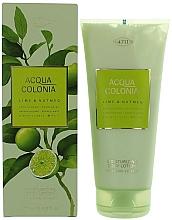 Profumi e cosmetici Maurer & Wirtz 4711 Aqua Colognia Lime & Nutmeg - Lozione corpo