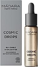 Profumi e cosmetici Illuminante - Madara Cosmetics Cosmic Drops Buildable Highlighter